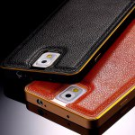 Misc Leather+Metal Aluminum Case For Note 3