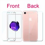 Misc Tempred Glass 2 in 1 for Iphone 7
