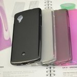 Misc LG Nexus 5 Jelly Case+Screen Protector